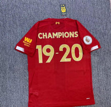 Load image into Gallery viewer, Liverpool 19-20 Champions Shirt
