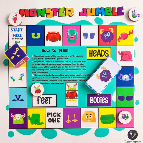 Monster Jumble