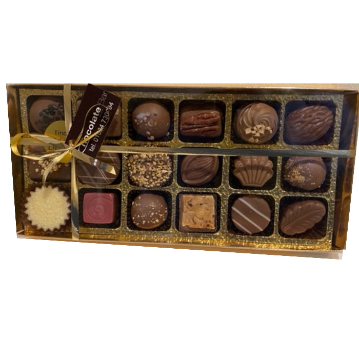 Box of 18 Belgian Chocolates - Milk