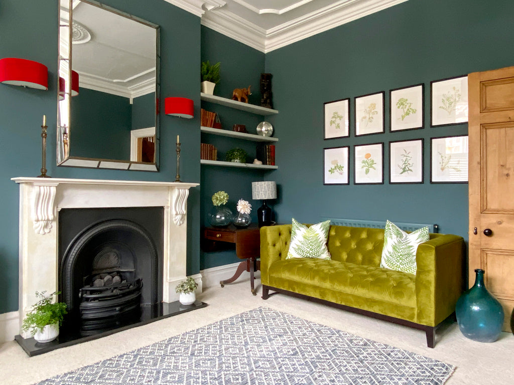 Victorian Living Room Design with Mudford Sofa