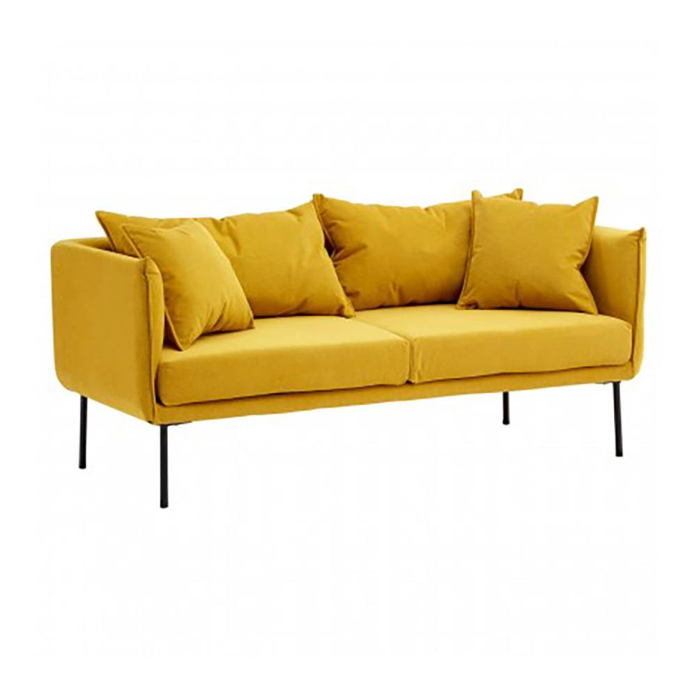Litton Yellow Sofa, 2 Seater