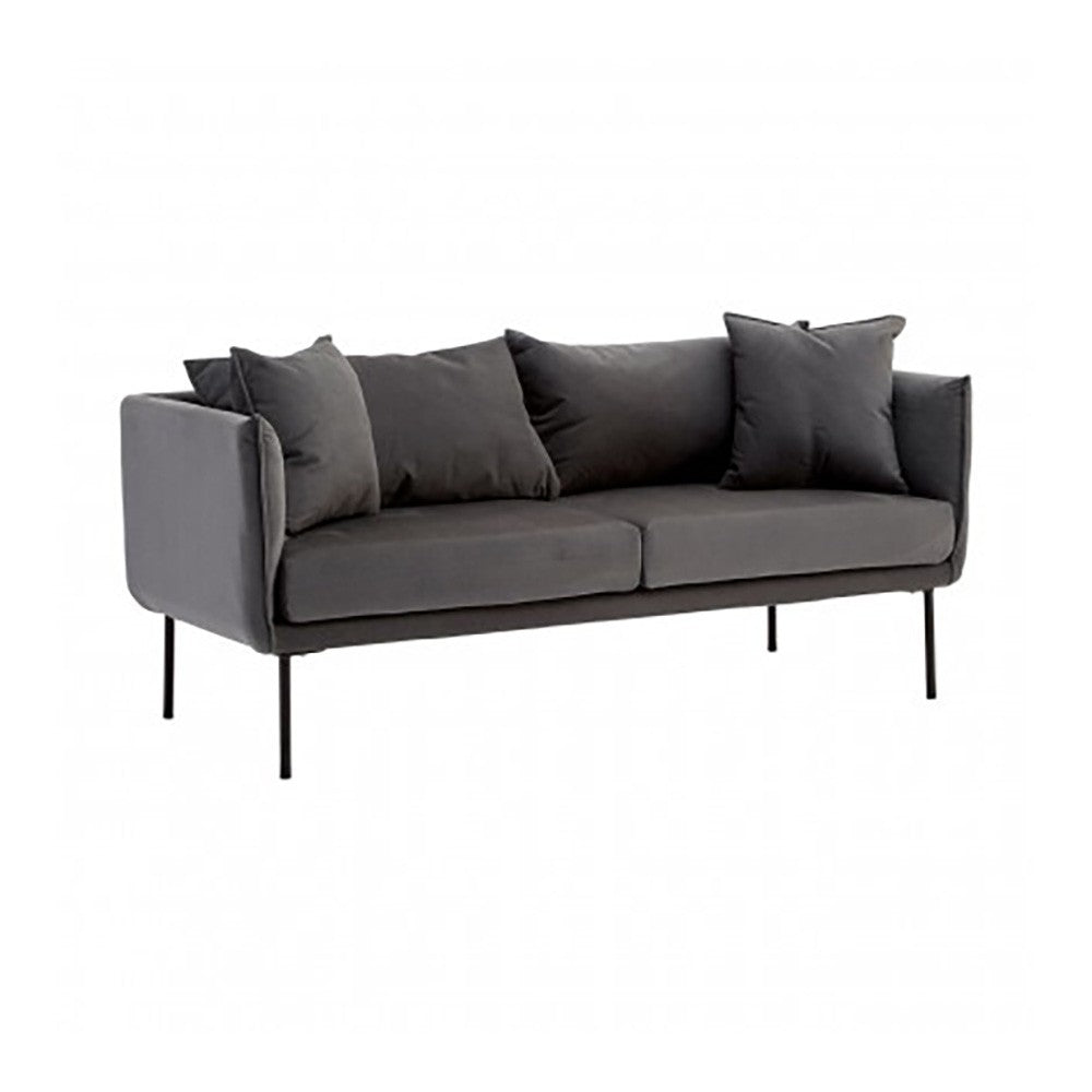 Litton Grey Sofa, 2 Seater