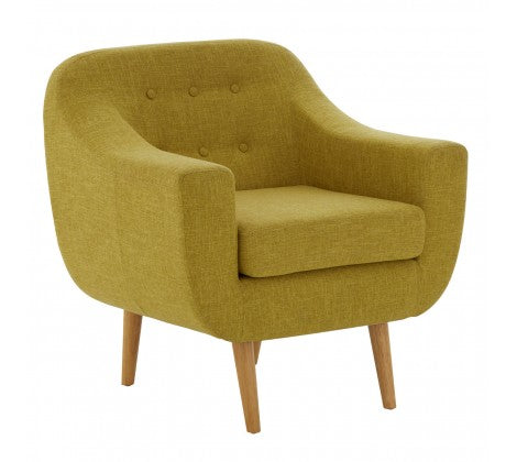 Blagdon Canary Yellow Armchair