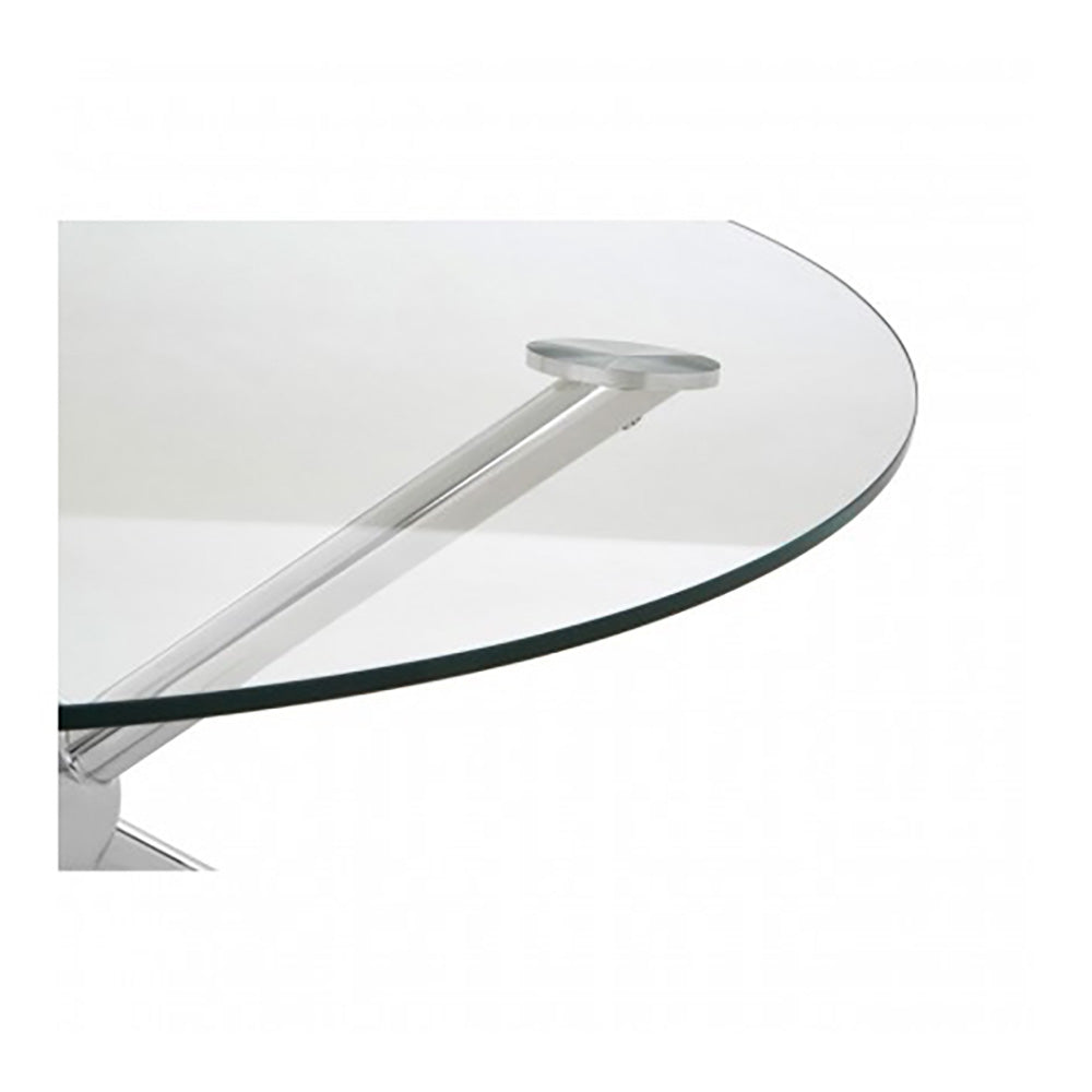 Kingcote Silver Round Coffee Table