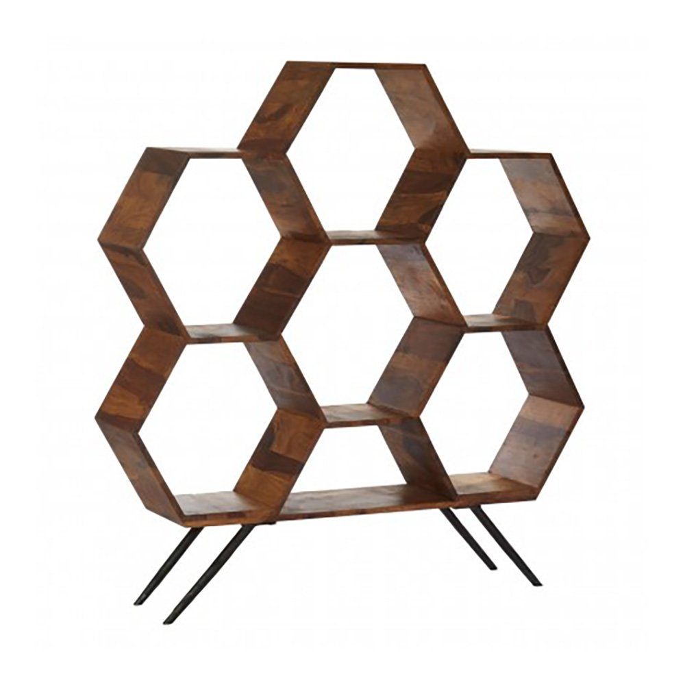 Lea Hexagon Shelving Unit