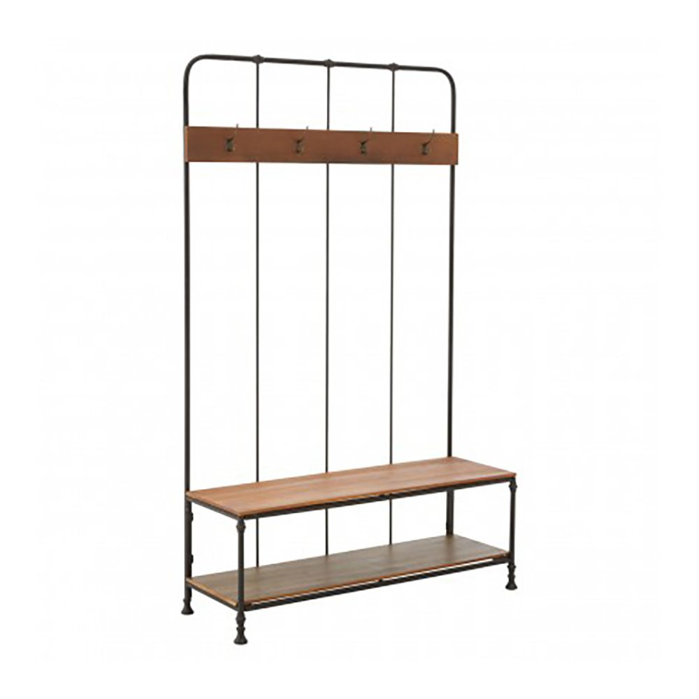 Cheyney Bench and Coat Rack
