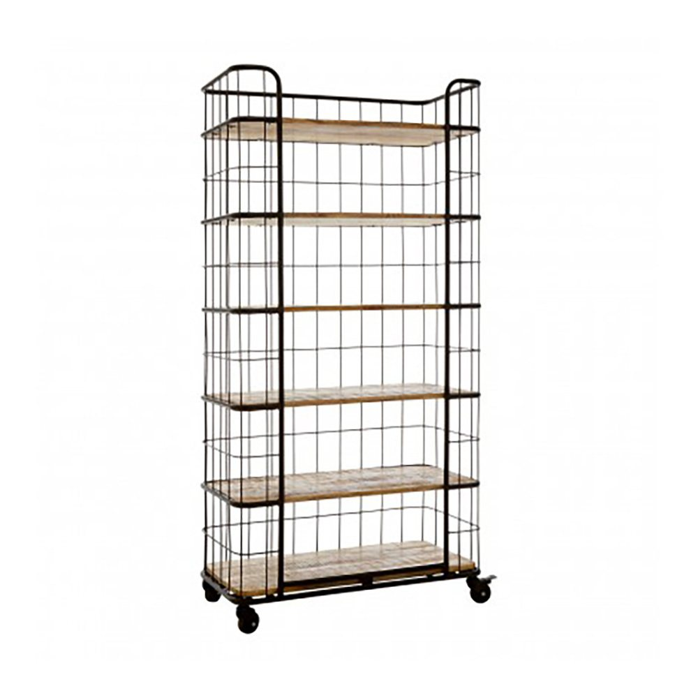 Compton IV Wire Shelving Unit, 6 Shelves