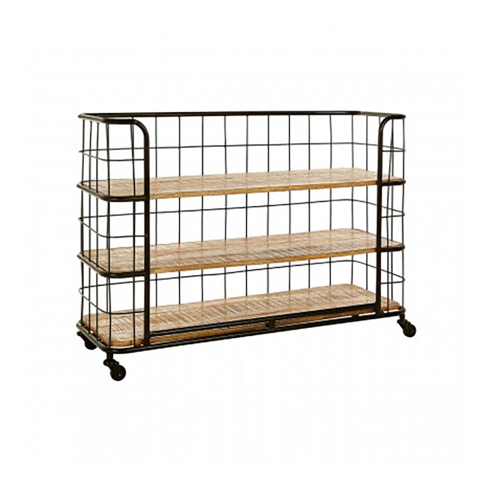 Compton III Wire Shelving Unit, 3 Shelves
