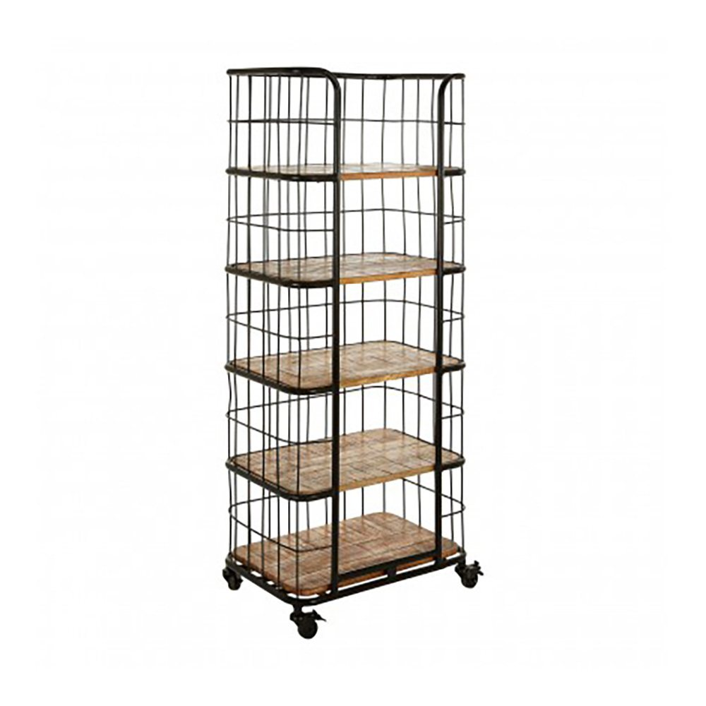 Compton II Wire Shelving Unit, 5 Shelves