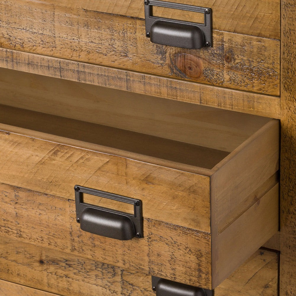 Doynton Solid Pine Chest of Drawers, 6 Drawers