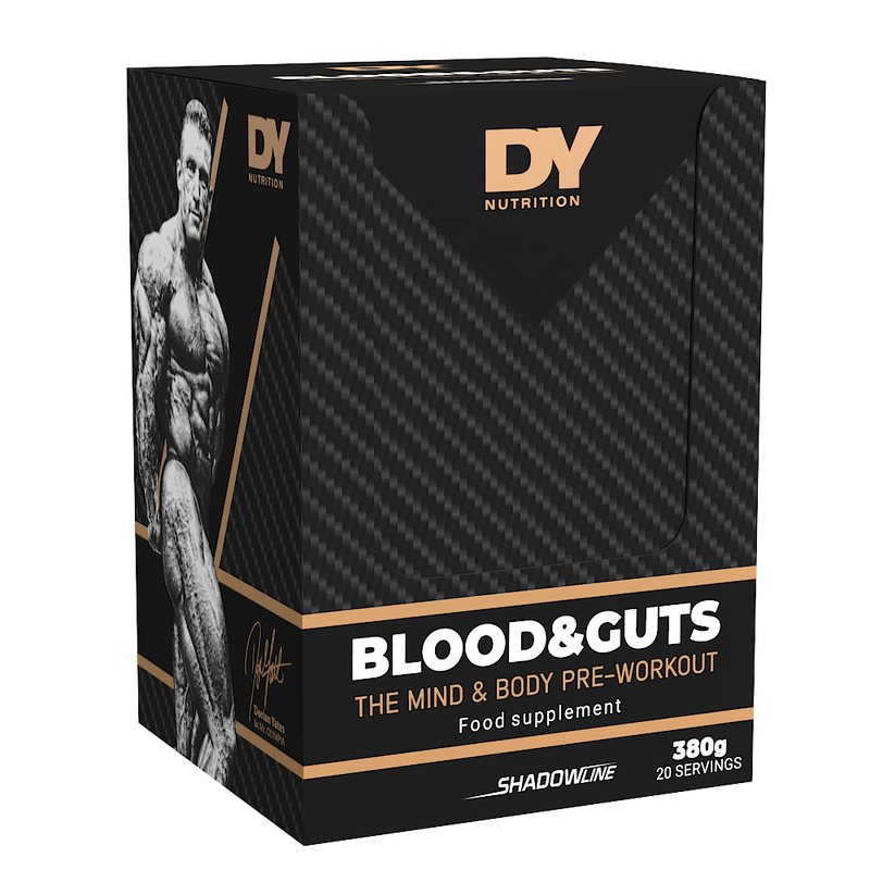 Pre-Workout Blood and Guts 380g Box, 20 Sachets