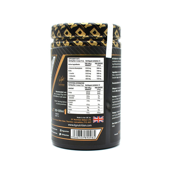 HIT BCAA 4:1:1 + Glutamin, 450g, 30 Portionen