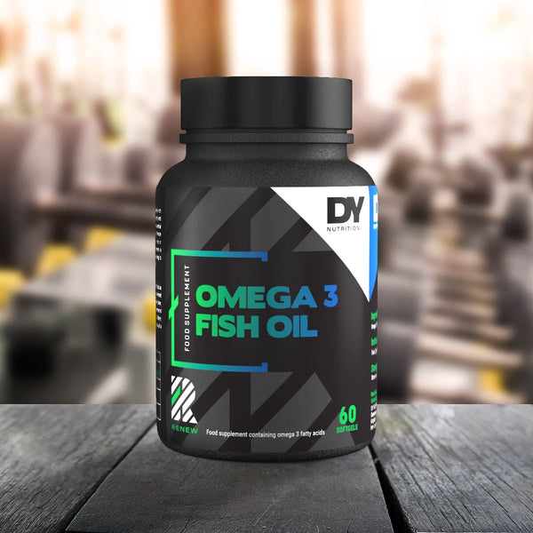 Renew Omega 3 Fish Oil 1000mg, 60 Softgels Bottle