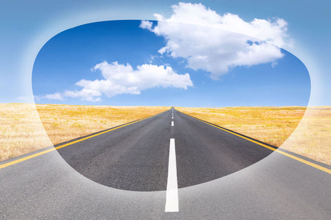polarized lenses block glare