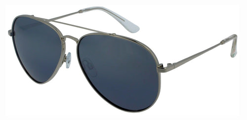 Floats Eyewear F4324 Chrome-Grey - Aviator polarized sunglasses