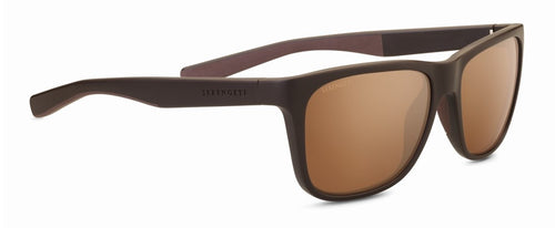 Serengeti Livio 8684 Sanded brown mineral polarized drivers gold sunglasses