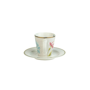 Kop en schotel espresso Cobblestone Laura Ashley Heritage