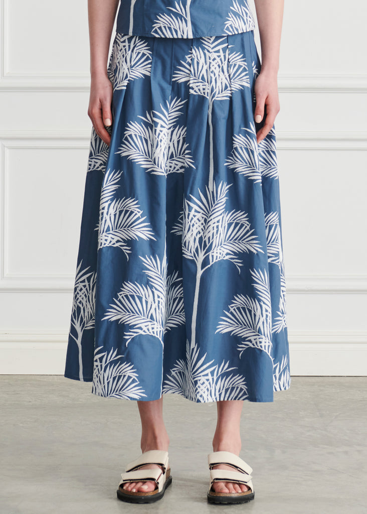 Fern Reverse Pleat Skirt
