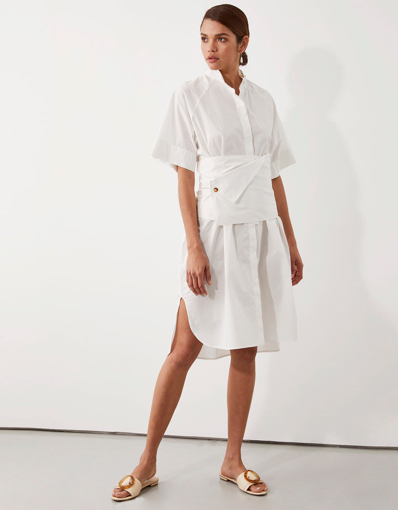 Parker Obi Shirt Dress by Apartment Clothing