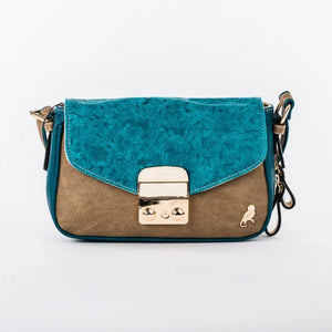 Nano De La Rosa Mini Bicolor Across Body Bag