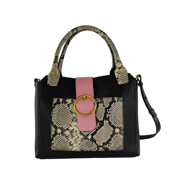 Valentino Bags by Mario Valentino Snake Print Leather Ragusa