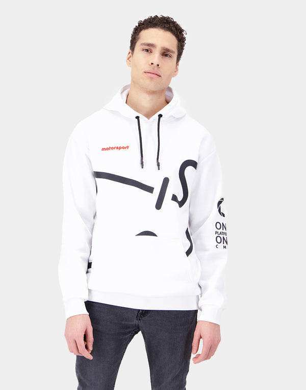 Relaxed Fit Men's Hooded Sweatshirt