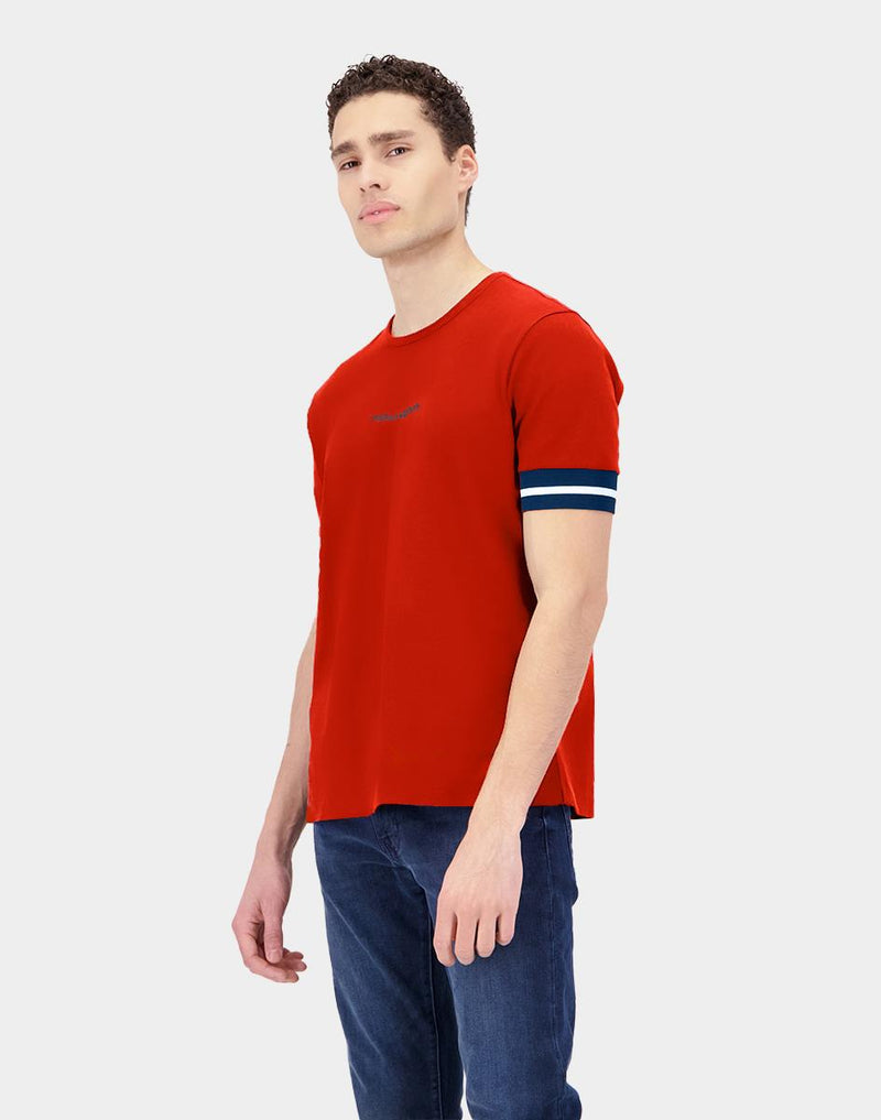 Regular Fit Pique Men's T-shirt