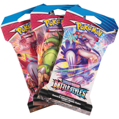 Pokemon TCG Sword & Shield Battle Styles Carded Booster Pack