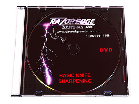 "Razor Edge ""Basic Knife Sharpening"" DVD"