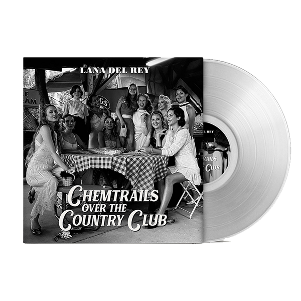 """Chemtrails Over The Country Club"" LP Transparent"
