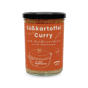 Süßkartoffel Curry