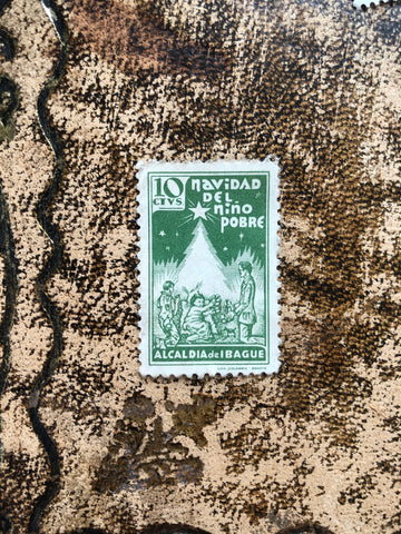 Vintage stamp from London Letters