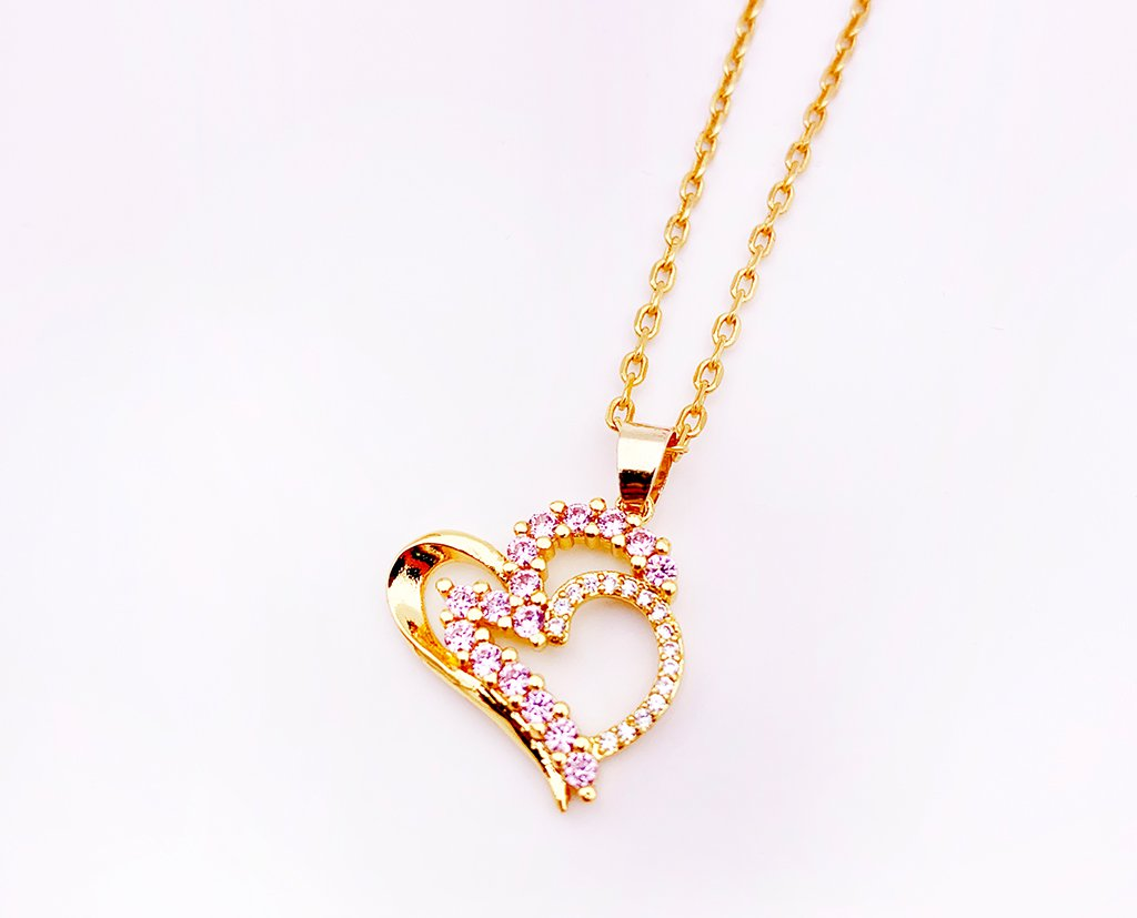 Love My Valentine Heart Pendant - Clothes&Fashions