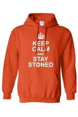 Men's/Unisex Pullover Hoodie Keep Calm And Stay Stoned - Clothes&Fashions