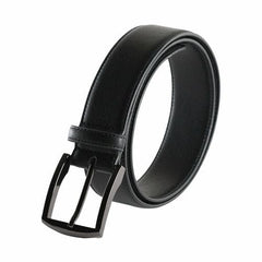 Metallic Black Square 2 Belt - Vegan - Clothes&Fashions