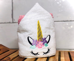 Unicorn, Hooded Towel.