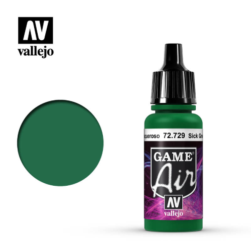 VLJ - Game Air Sick Green