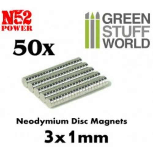 GSW- 3x1mm Magnets