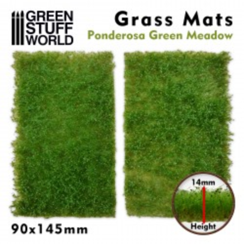GSW- Grass Mats Ponderosa Green Meadow