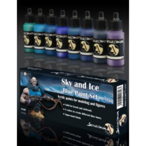 Sky and Ice Paint Set