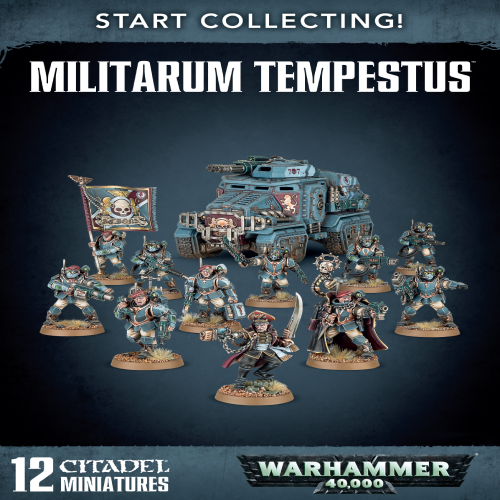 Start Collecting Militarum Tempestus Scions