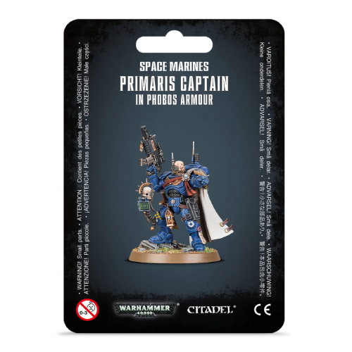 Primaris Space Marine Captain in Phobos Armor