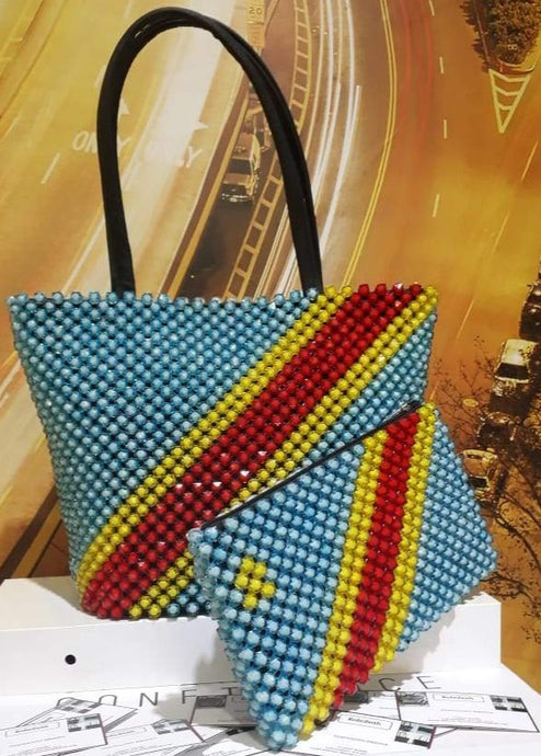 Hand made beaded handbags and clutches. Made in South Africa. R940