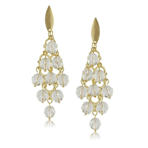 10078R 18K Gold Layered Earring