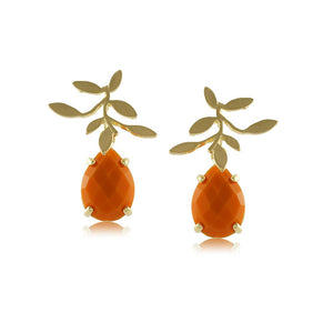 10226R 18K Gold Layered Earring
