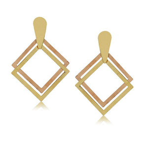 10258R 18K Gold Layered Earring