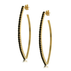 10509R 18K Gold Layered Earring