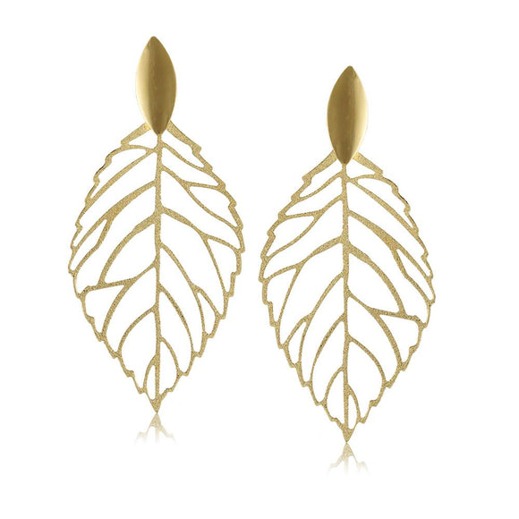 10570R 18K Gold Layered Earring