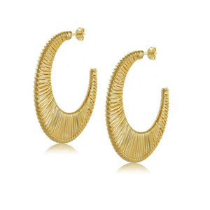 10579R 18K Gold Layered Earring