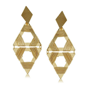 10750R 18K Gold Layered Earring